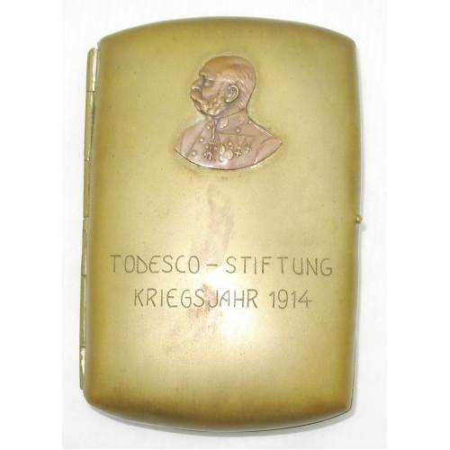 TODESCO-STIFTUNG KRIEGSJAHR 1914
