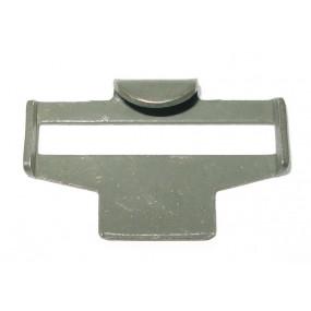 Metallhaken für Leinen-Koppelriemen OLC 1943