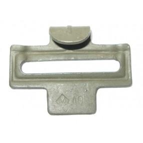Metallhaken für Koppelriemen M 40