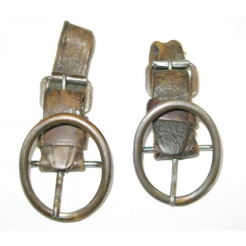 Schnallenstücke für die Mannschafts-Säbelkuppel für die Kavallerie der k. u. k. Armee