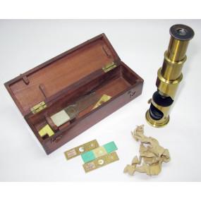 Mikroskop um 1900