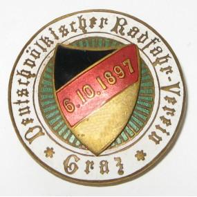 DEUTSCHVÖLKISCHER RADFAHR VEREIN GRAZ 6.10.1897