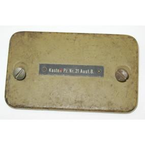 Kasten Pz. Nr. 21 Ausf. B. zur Panzer Bordsprechanlage 20