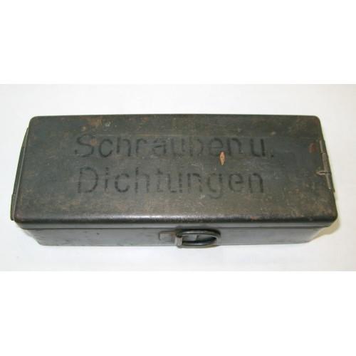 Wehrmacht DKW Maschinensatz Zubehör Box