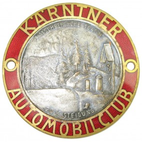 KÄRNTNER AUTOMOBILCLUB KATSCHBERGHÖHE 1641 M. 28 % STEIGUNG