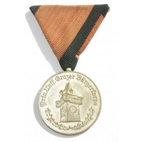 Priveligiertes uniformiertes Grazer Bürgerkorps 1820 - 1955