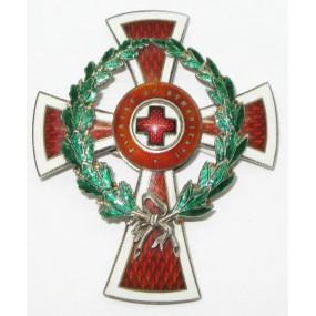 Ehrenzeichen vom Roten Kreuz, Offizierskreuz mit KD