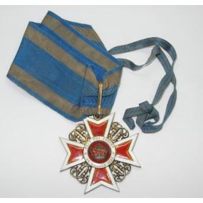 Orden der Krone von Rumänien Kommandeurskreuz