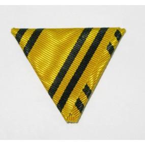 Dreiecksband für ERINNERUNGSKREUZ 1912 /13 (Mobilisierungskreuz)