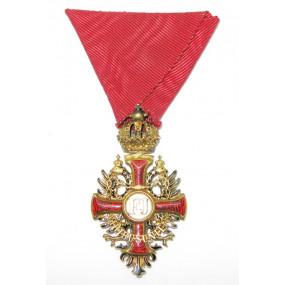 Franz Joseph-Orden Ritterkreuz GOLD