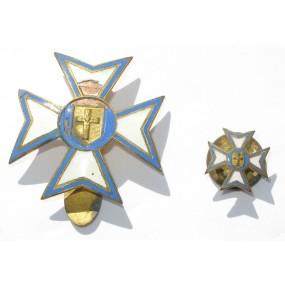Kirchliche Auszeichnung mit Miniatur