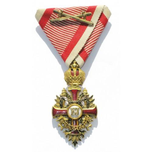 Franz Josef Orden,  Ritterkreuz