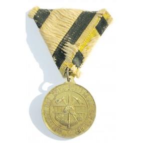 Erinnerungsmedaille Ober St. Veiter Freiwillige Feuerwehr 14. Juli 1901
