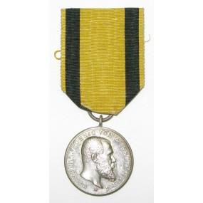 Württemberg Silberne Militärverdienstmedaille König Wilhelm II. 1892 - 1918