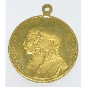 Medaille, Kaisermanöver bei Chotowin und Tabor Böhmen 1913