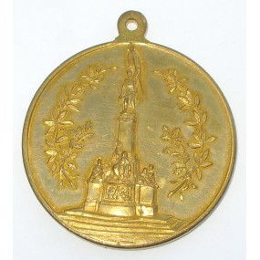 Medaille, Enthüllung des Deutschmeister Denkmales in Wien 1906