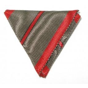 Dreiecksband für Verwundetenmedaille mit 1 Streifen