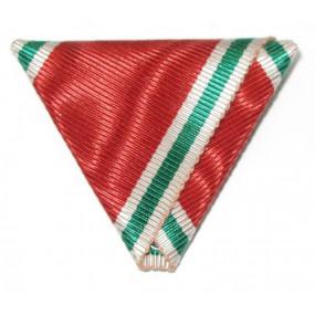 Dreiecksband für  Bulgarische Weltkriegserinnerungsmedaille 1915-1918