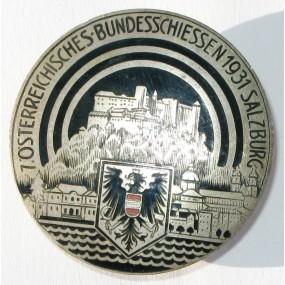 Schützenabzeichen, 7. ÖSTERREICHISCHES BUNDESSCHIESSEN 1931 SALZBURG