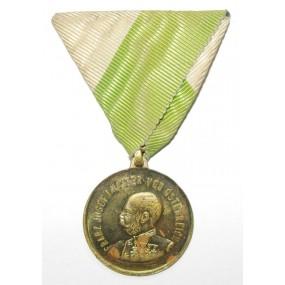 Medaille, Militär Veteranen Verein Liebenau 1864 - 1914