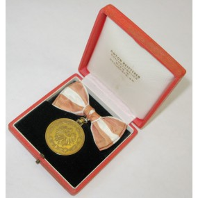 Bronzene Medaille für Verdienste um die Republik Österreich