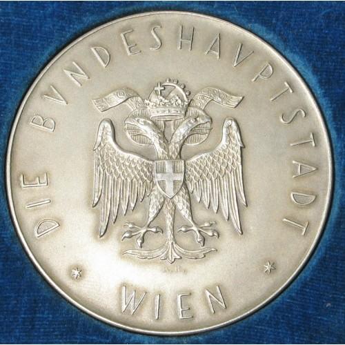 A. Hartig, Silbermedaille der Stadt Wien 1936