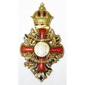 Kaiserlich Österreichischer Franz Joseph-Orden, Gold