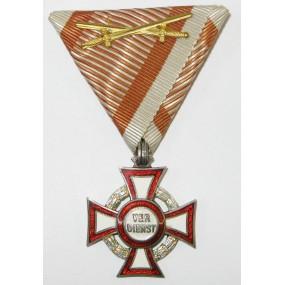 Österreich / K.u.K. Monarchie, Militärverdienstkreuz III. Klasse mit KD und Schwertern