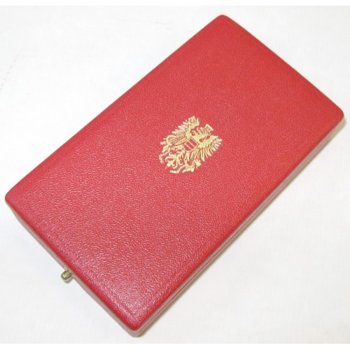 Goldenes Verdienstzeichen der Republik Österreich