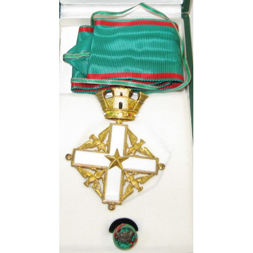 Verdienstorden der Republik Italien - Kommandeurkreuz