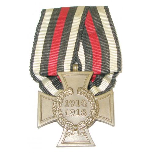 Deutsches Reich, Ehrenkreuz für Kriegsteilnehmer 1914-18