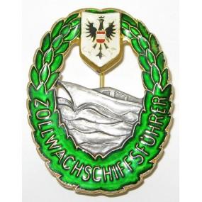 Österreich 2. Republik Exekutive, Zollwache Schiffsführer-Abzeichen