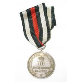 Preussen, Kriegsdenkmünze 1870/1871 für Nichtkämpfer