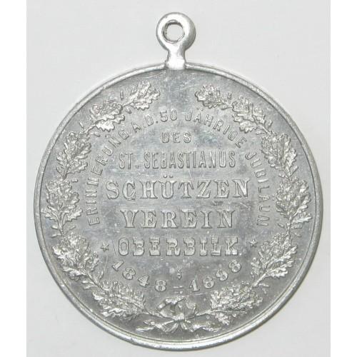 St. Sebastianus Schützen Verein Oberbilk 1848 - 1898