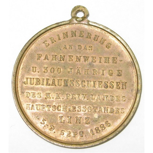 Jubiläumsschießen in Linz 5. - 9. September 1886