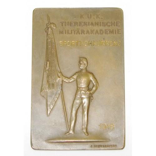 K. u. K. Theresianische Militärakademie Sport Konkurrenz 1918
