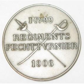 IR 99 REGIMENTS FECHTTURNIER 1906
