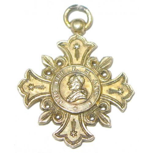 VATIKAN Geistliches Verdienstkreuz PRO ECCLESIA ET PONTIFICE 1888