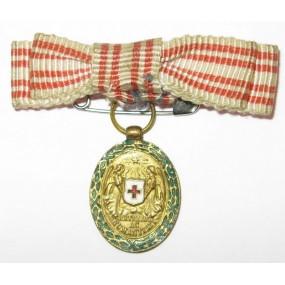 Ehrenzeichen vom Roten Kreuz, Bronzene Ehrenmedaille mit KD