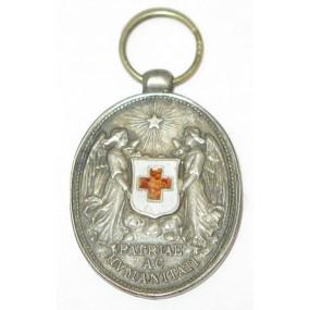 Ehrenzeichen vom Roten Kreuz, Silberne Ehrenmedaille