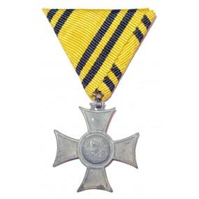 Österreich / K.u.K. Monarchie, Erinnerungskreuz 1912/1913 Mobilisierungskreuz