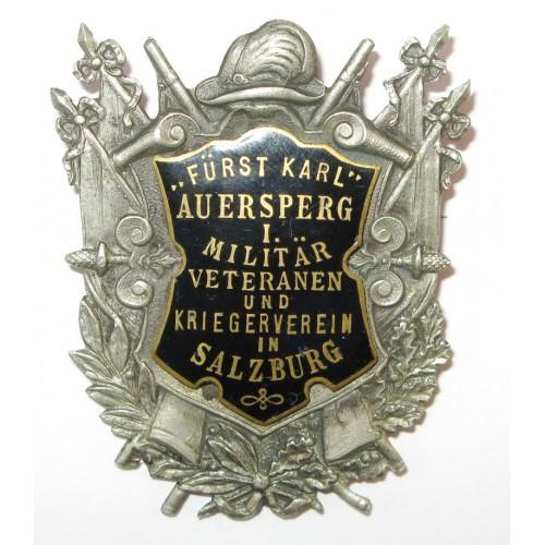 FÜRST KARL AUERSPERG I. MILITÄR VETERANEN UND KRIEGERVEREIN IN SALZBURG