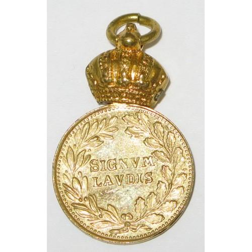 Militärverdienstmedaille, Bronzene MVM/FJI