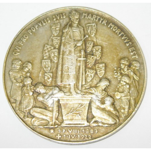 Silbermedaille Kaiser Karl 1887 - 1922