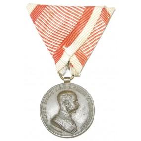 Bronzene Tapferkeitsmedaille Kaiser Franz Josef I.