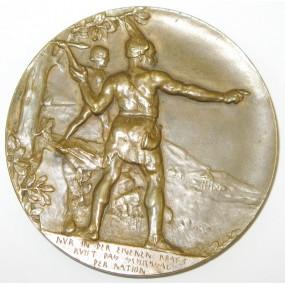 Bronzemedaille 25 Jahre Deutscher Schulverein 1880 - 1905