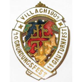 11. Gauturnfest, 40. Gründungsfest Villach 1904