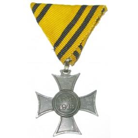 Erinnerungskreuz 1912/1913 Mobilisierungskreuz