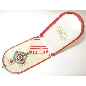 Ehrenzeichen vom Roten Kreuz II Kl. mit Kriegsdekoration
