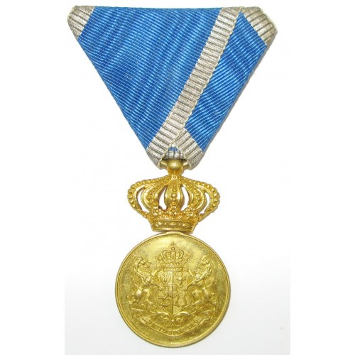 """Rumänien Treudienst-Medaille """"Serviciu Credinciosu"""""""